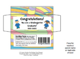 Hershey Bar Wrapper & Class Ring Labels