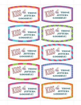 Hershey kiss - motivational note