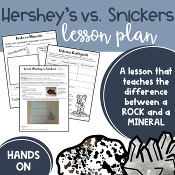 Hershey's vs. Snickers- The difference between a rock and a mineral