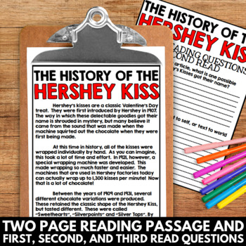Valentine's Day Close Reading