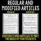 Hertzsprung-Russell (H-R) Diagram - Science Literacy Article
