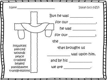 He's Alive! Biblical Easter Packet