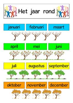 Het  jaar  rond  -  A3