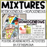 Heterogeneous & Homogeneous Mixture Activity Pack