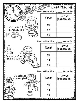 Heure • TIME in FRENCH
