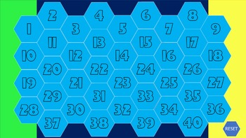 Hex Battle Interactive Powerpoint Review Game