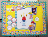 HexaFun Birthday Bulletin Board and Celebration Package