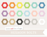 Hexagon Bolt Clipart; Tool, Construction