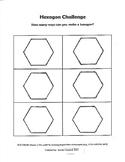 Hexagon Challenge (STEAM Activity)