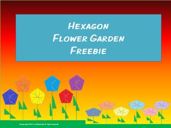 Hexagon Flower Garden FREEBIE