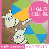 Hexagon Hedgehog - A Fun Craft Activity for 2D Shapes