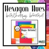 Hexagon Hues Birthday Pack