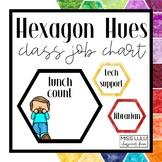 Hexagon Hues Class Job Chart