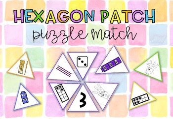 Hexagon Patch Number Match