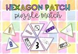 Hexagon Patch Number Match #betterthanchocolate