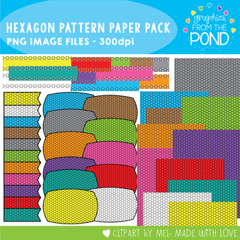 Hexagon Pattern Paper Pack