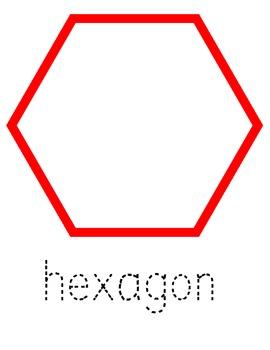 Hexagon Playdough Mat