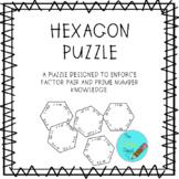 Hexagon Puzzle (Prime and Composite Factor Pairs)