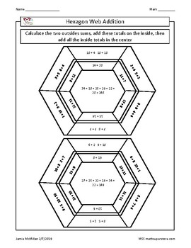 Hexagon Web Addition