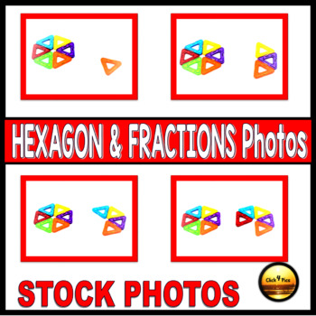 Pictures of Building a Hexagon Visual Aid for Geometry Lessons