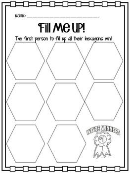 Hexagon fill up