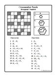 Hexagonal Numbers (Cross-number Puzzle)