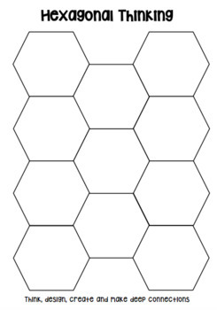 Hexagonal Thinking Template