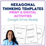 Hexagonal Thinking - Printables & Templates for Google Dri