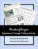 Hexahexaflexagon Equilateral Triangle Folding Activity