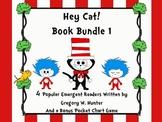 Hey, Cat! Book Bundle 1 ~ A Set of 4 Popular Emergent Read