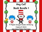 Hey, Cat! Book Bundle 1 ~ A Set of 4 Popular Emergent Read