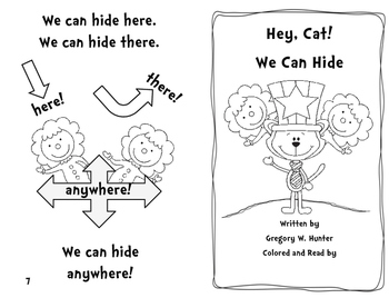 Hey Cat! We Can Hide!  ~  for Read. Across America or Celebrating Dr. Seuss