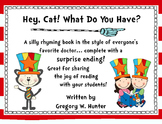 Hey, Cat! What Do You Have? ~ An Emergent Reader