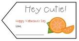 Hey Cutie! Valentine's Day Gift Tag FREEBIE