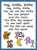 Hey Diddle Diddle Book, Poster, and MORE - Preschool Kindergarten Nursery Rhymes