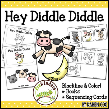 Hey Diddle Diddle Books & Sequencing Cards