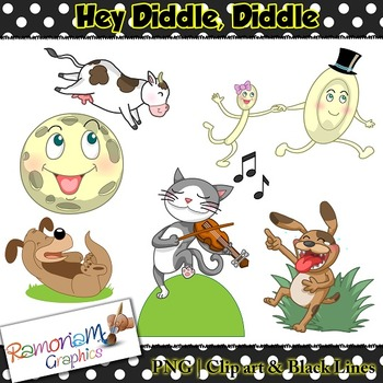 Hey Diddle Diddle Clip art