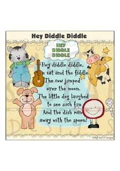 Hey Diddle Diddle Clipart Collection