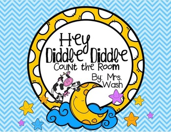 Hey Diddle Diddle Count the Room Freebie