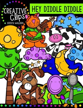 Hey Diddle Diddle {Creative Clips Digital Clipart}