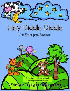 Hey Diddle Diddle Emergent Reader