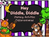 Hey Diddle Diddle Literacy Activities