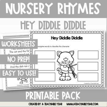 Hey Diddle Diddle - Nursery Rhyme