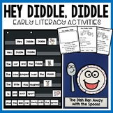 Hey Diddle Diddle Nursery Rhyme Activities and craft