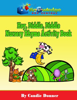 Hey, Diddle, Diddle Nursery Rhyme Activity Book