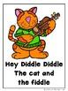 Hey Diddle Diddle (A Nursery Rhyme Emergent Reader, Teacher Lap Book Bundle)