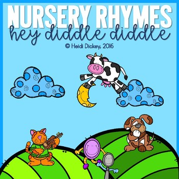 Hey Diddle Diddle Nursery Rhyme Pack