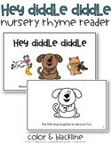 Hey Diddle Diddle {Nursery Rhyme Reader}