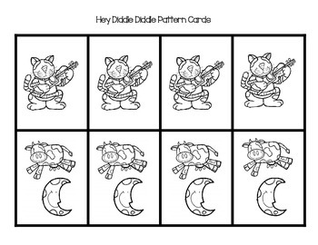 Hey Diddle Diddle Pattern Cards
