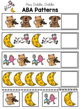 Hey Diddle, Diddle Pattern Cards